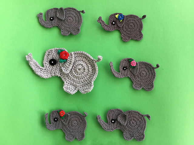 Free Crochet Patterns and Designs by LisaAuch: Crochet a Flat ... | 480x640