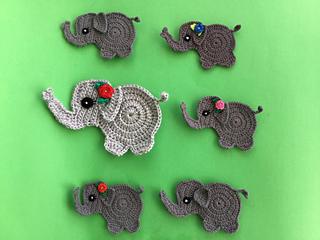 Hooded Elephant Blanket Crochet pattern by MJsOffTheHook ... | 240x320