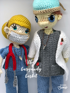 Nurse Doll Amigurumi - Free Pattern (Beautiful Skills - Crochet ... | 320x240