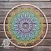 Blooming Daisy Mandala pattern