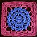 Violet Crochet Square pattern