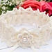 Wrapped in Lace Wedding Garter pattern