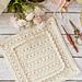 Primrose & Proper Ruffled Afghan Square pattern