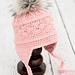La Vie en Rose Earflap Hat pattern