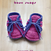 Baby Sneakers Boat Shoes pattern