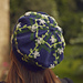 Petals and Plaid Hat pattern