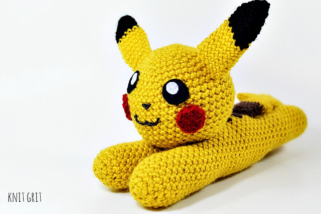 Pikachu Amigurumi Crochet Tutorial Part 2 - YouTube | 426x640