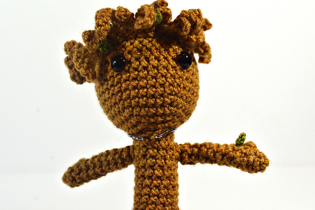 How to Crochet a Baby Groot from Guardians of the Galaxy - YouTube | 426x640