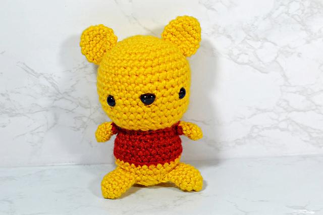 Tutorial Winnie the Pooh Amigurumi | How to crochet Winnie the ... | 426x640