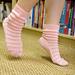 Chaussettes ajourées pattern