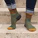 Scrap'n'Stripes socks pattern