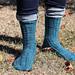 Twist & Shine socks pattern