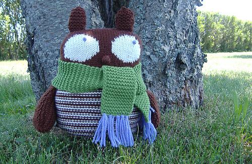 Otto the Owl Outside