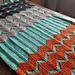 The Walt Painted Chevron Baby Blanket pattern
