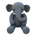 Elephant (Knit a Teddy) pattern