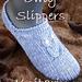 Owly Slippers - Eulen Slipper pattern