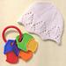 Snowflake baby hat pattern