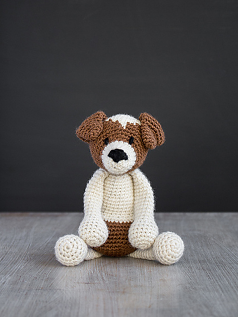 Amigurumi - Jack Russell Terrier Puppy (with pattern!) - CROCHET | 640x480