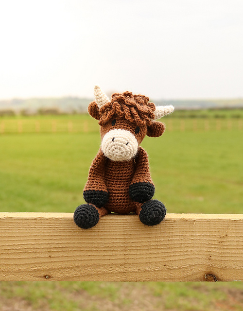 Ravelry Douglas The Highland Cow Pattern By Kerry Lord