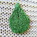 Knitted Leaves pattern