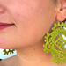 Happy Earrings - Lace Jewelry pattern