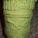 Margarita Socks - beaded with flip-flop toe option pattern
