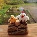 Mini Chicken and Chick pattern