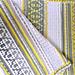 Mosaïc Blanket Sunny Grey pattern