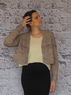 Worn on my Tempête (storm) sweater as a vest