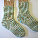 Ric-Rac Rib Socks pattern