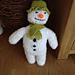 Cuddly Snowman pattern