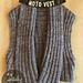 Moto Vest pattern