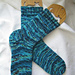 Plain Vanilla Socks pattern