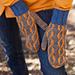 Spiral Style Mittens pattern