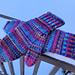 Krazy 2 Colour Mittz pattern