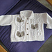 Cable and Teddybear Jacket pattern