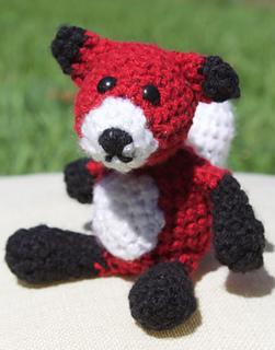 Fox Amigurumi - parts | Free pattern at on Ravelry: www.rave… | Flickr | 320x251