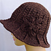 Ridge Hat with Brim pattern