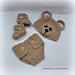 Newborn Set Teddy Bear pattern