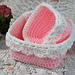 Large Square Nesting Basket pattern