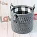 Large Mountain Lodge Basket pattern