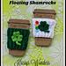 Floating Shamrocks Cozy pattern