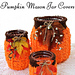 Pumpkin Mason Jar Covers pattern
