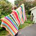 Beach Stripe Surf Blanket pattern