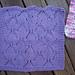 Automne (Autumn) Dishcloth pattern