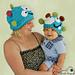 Giggle Monster Hat pattern