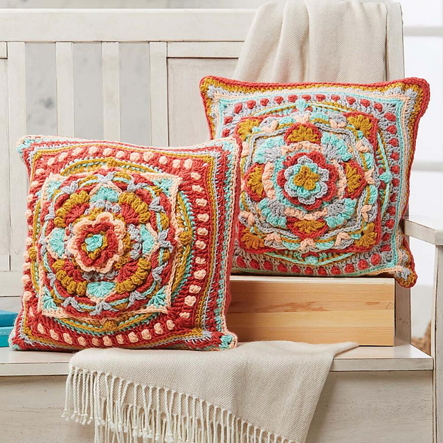 Ravelry Overlay Pillow Covers Pattern By Kristi Simpson