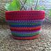 Crochet Flower Pot Cozy pattern