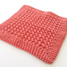 Textured Crochet Washcloth pattern
