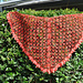 Molten Lava Crochet Shawl pattern